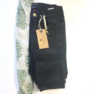Maison Scotch La Parisenne Black Skinny Jeans